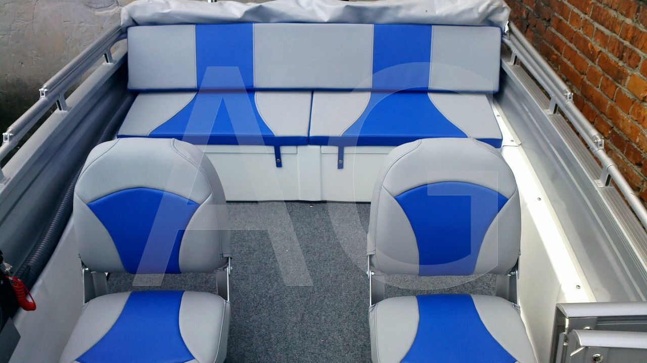 Пошив сидений для катеров и лодок: сидения
